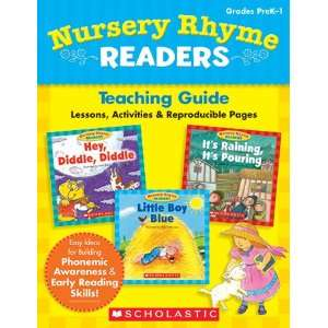 SCHOLASTIC TEACHING RESOURCES NURSERY RHYME READERS Toys