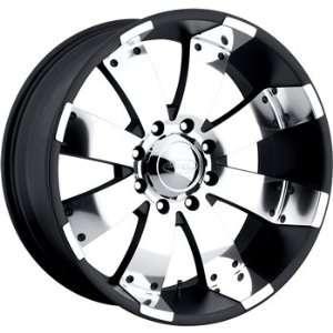 American Eagle 64 20x10 Black Wheel / Rim 5x135 with a  21mm Offset