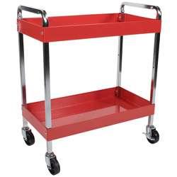 Arcan Red Power Coat Multi purpose Service Cart