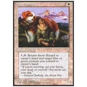 Magic the Gathering   Snow Hound   Ice Age Toys & Games