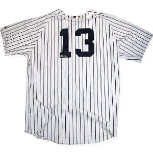 Alex Rodriguez New York Yankees Autographed Home Jersey
