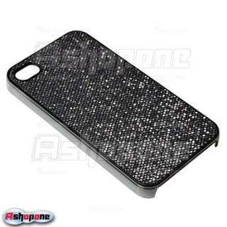 Bling Glitter Rubber Hard Case Cover for iPhone 4 4G