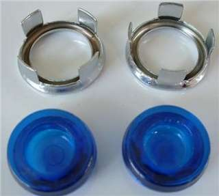 Blue Dot Tail Light Lens Inserts Lights Hot Rod Lights