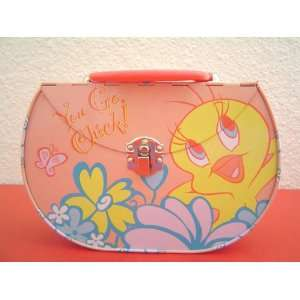 Looney Tunes Tweety Tin Collectible Purse Lunch Box