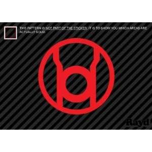 (2x) Red Lantern Corps   Sticker   Decal   Die Cut