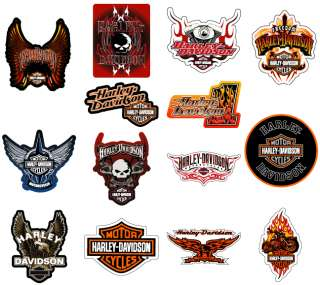 DAVIDSON STICKERS * 100 PCS * HUGE WHOLESALE LOT NEW MOTORCYCLE DECALS