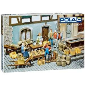 MARKET STALL   POLA G SCALE MODEL TRAIN BUILDINGS 331041 Toys & Games
