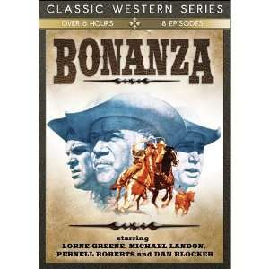 Bonanza V.1 (8 Episodes) Lorne Greene, Michael Landon