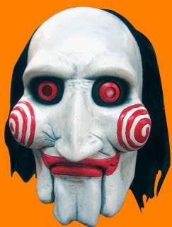 HALLOWEEN Mask SAW JIGSAW PUPPET Prop DEMON Evil Clown