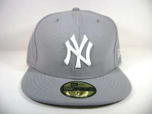 NEW ERA 59FIFTY FITTED MLB NEW YORK YANKEES GREY/WHITE
