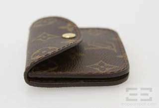 Louis Vuitton Brown Monogram Canvas Small Coin Purse