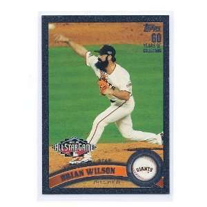 Update Black #204 Brian Wilson San Francisco Giants #ed 33/60 Sports