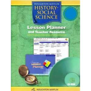 Lesson Planner and Teacher Resource (9780618548668) Houghton Mifflin