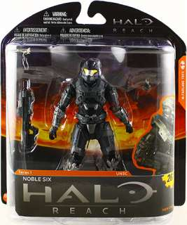 HALO REACH SERIES 1 MCFARLANE TOYS NOBLE SIX ACTION FIGURE