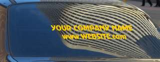 40 CUSTOM DECAL BUSINESS VINYL SIGN BACK WINDOW CAR AD