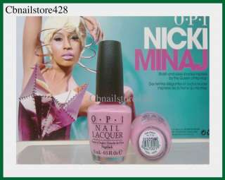 OPI   Nicki Minaj Collection   PINK FRIDAY .5oz   NEW Arrival