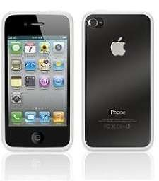 GRIFFIN Reveal White & Clear SLIM Case for iPhone 4 NEW