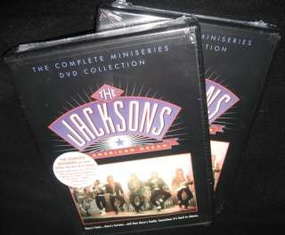 THE JACKSONS AN AMERICAN DREAM COMPLETE SERIES NEW DVD
