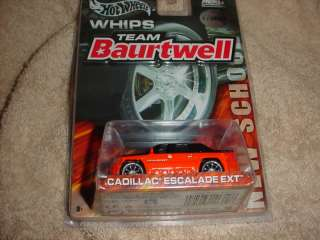 HOT WHEELS CADILLAC ESCALADE EXT HARLEY COLORS 1/30000