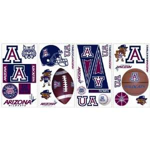 Arizona Wildcats Kids Removable Wall Graphics Stickers