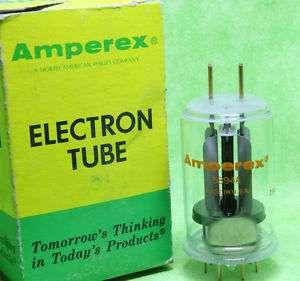 Single Amperex 5894A Tube NOS/NIB Gold Pin Tested