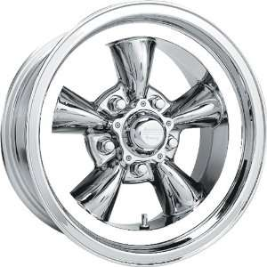 American Racing Vintage Torq Thrust D 15x8 Chrome Wheel / Rim 5x4.75