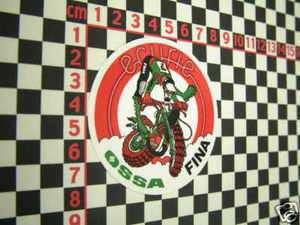 Ecurie Ossa Trials Bike Motorcycle Sticker