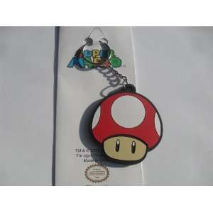 Officially Licensed Nintendo Super Mushroom Soft Rubber