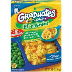 Gerber Graduates Lil Entrees Chicken & Pasta Wheel Pick Ups Complete