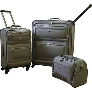 American Flyer Quattro 3 Piece Luggage Set Luggage