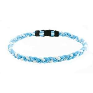 Ionic Sports Titanium Necklace Light Blue & White Sports & Outdoors