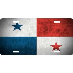 Rikki KnightTM Panama Flag Cool Novelty License Plate