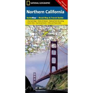 Northern California, National Geographic Maps Travel & Nature