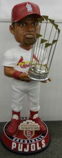 ALBERT PUJOLS   2011 Cardinals World Series Champions 3 Foot
