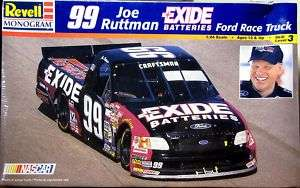 Revell #99 Joe Ruttman 1998 Exide Batteries Ford Truck