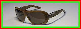 NEW DOLCE & GABBANA D&G 4002 DARK BROWN FRAME SILVER LOGO SUNGLASSES