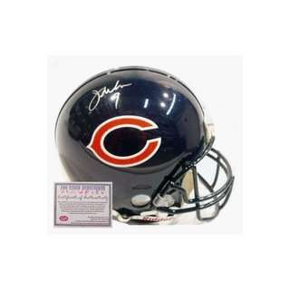 Jim McMahon Chicago Bears NFL Autographed Full Size Pro Line Football