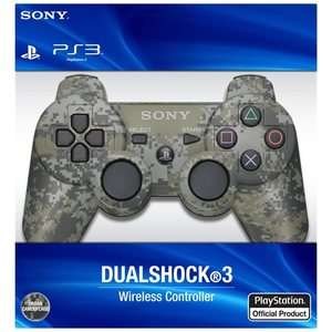 Official Sony Camo Dualshock 3 Playstation 3 PS3 Wireless Controller
