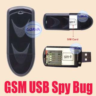 Activated Recorder Mobile GSM Channels USB Stick Bug Listening