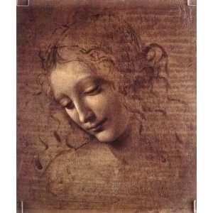 Da Vinci Art Reproductions and Oil Paintings Female head
