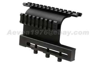 Screw Style AK Side Plate Double Picatinny Style Side Rail Scope Sight
