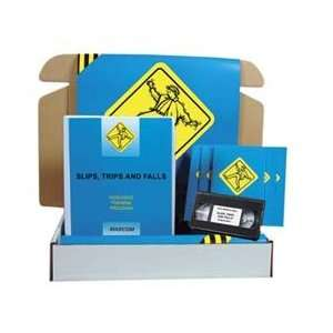 Slips, Trips & Falls Safety Meeting Kit (Video): Home