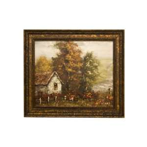 Vintage Antique Style Hand Painted Oil Painting  High Quality Painting