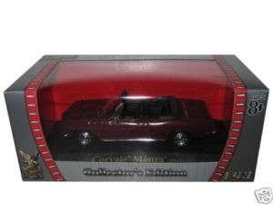 1969 CHEVROLET CORVAIR MONZA MAROON 1/43 DIECAST CAR