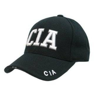 Delux Military Law Enforcement Cap Hat  CIA