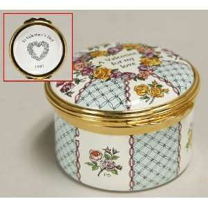 Halcyon Days Valentines Day Boxes with Box, Collectible