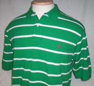 NEW 4X BIG Mens POLO Ralph Lauren Shirt Green 4XB
