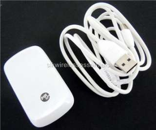OEM HTC MyTouch 3G Premium USB Data Cable+Home Charger Adapter