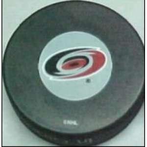 Carolina Hurricanes NHL Logo Puck