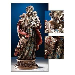 25 Gifts of Faith Milagros Patron Saints Statue St. Joseph and Baby